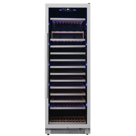 Avallon 24 Inch Wide 151 Bottle Capacity Built-In or Free Standing Single Zone Wine Cooler with Interior Lighting - AWC242TSZRH