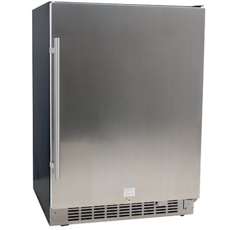 EdgeStar 142 Can Stainless Steel Beverage Cooler - CBR1501SLD - Wine Cooler City