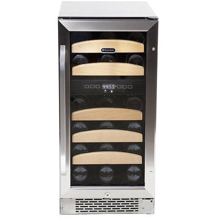 Whynter 28 bottle Dual Temperature Zone Built-In Wine Refrigerator - Wine Cooler City