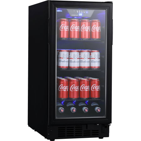 EdgeStar 15 Inch Wide 80 Can Built-In Beverage Center with ...