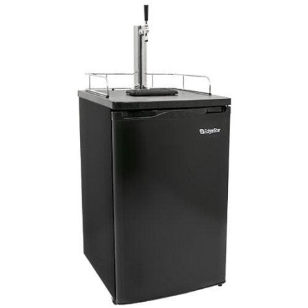 Edgestar 20 Inch Wide Kegerator and Keg Beer Cooler for Full Size Kegs - KC2000 - Black - Wine Cooler City