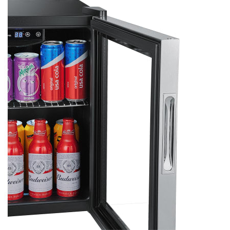 EdgeStar 18 Inch Wide 52 Can Capacity Extreme Cool Beverage Center - BWC71SS - Wine Cooler City