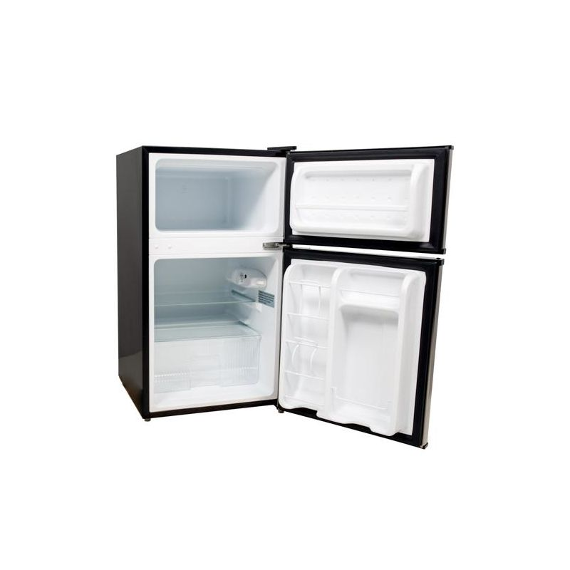 Edgestar 19 Inch Wide 3.1 Cu. Ft. Energy Star Rated Fridge/Freezer with Interior Lighting - CRF321SS - Wine Cooler City