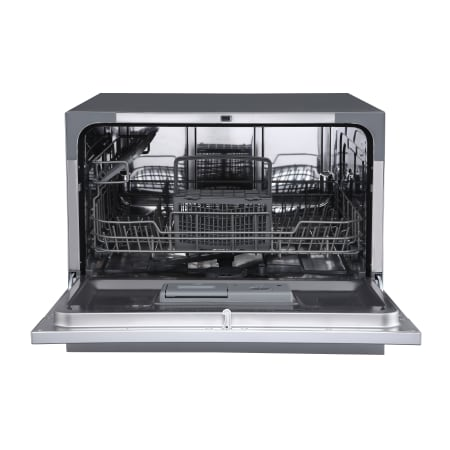 EdgeStar 22 Inch Wide 6 Place Setting Energy Star Rated Countertop Dishwasher - DWP62BL - Wine Cooler City