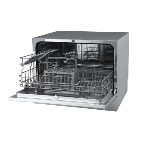 EdgeStar 22 Inch Wide 6 Place Setting Energy Star Rated Countertop Dishwasher - DWP62WH - Wine Cooler City