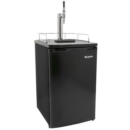 EdgeStar 20 Inch Wide Stout Kegerator with Insulated Tower - KC2000STOUT - Wine Cooler City