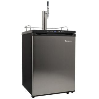 EdgeStar 24 Inch Wide Cold Brew Coffee Dispenser with Digital Display - Stainless Steel - KC3000SSCAFE - Wine Cooler City