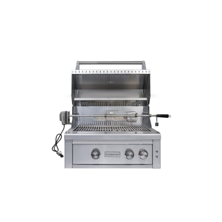 EdgeStar 60000 BTU 30 Inch Wide Liquid Propane Built-In Grill with Rotisserie and LED Lighting - GRL300IBLP