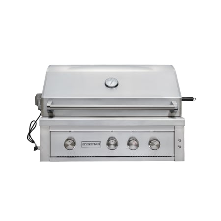 EdgeStar 89000 BTU 36 Inch Wide Natural Gas Built-In Grill with Rotisserie and LED Lighting - GRL360IBBNG - Wine Cooler City