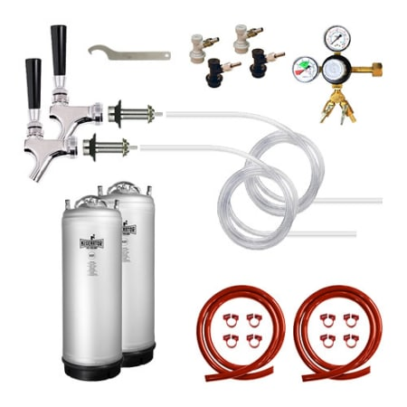Kegerator.com Door Mount Conversion Kit - HBDK2-MS - Wine Cooler City