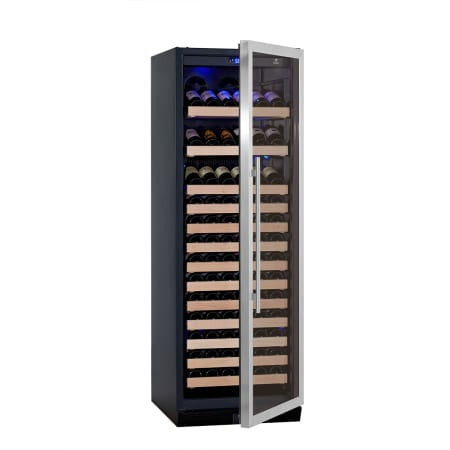 KingsBottle 24 inch Wide 131 Bottle Capacity Wine Cooler - KBU-170W-SS - Wine Cooler City
