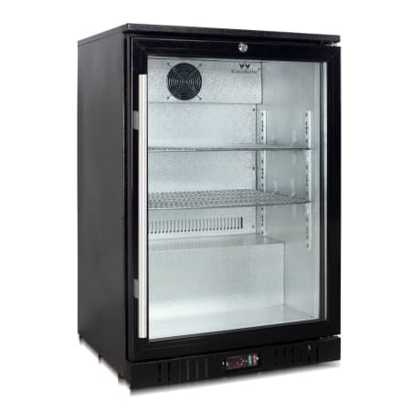 KingsBottle 24 inch Wide 160 Can Capacity Beverage Center - KBU-55-BP - Wine Cooler City