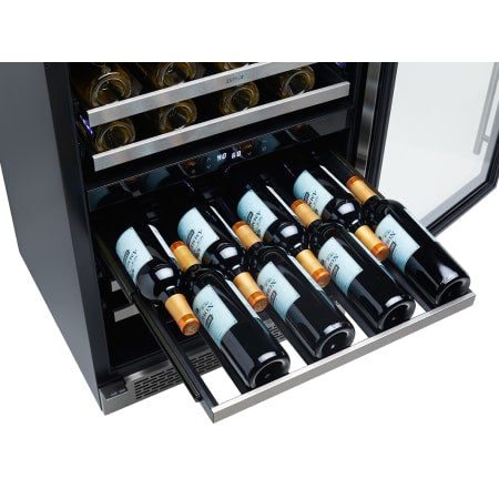 Zephyr Presrv™ 24 inch Wide 45 Bottle Capacity Built-In or Free Standing Wine Cooler with PreciseTemp™ Sensors - PRW24C02BG