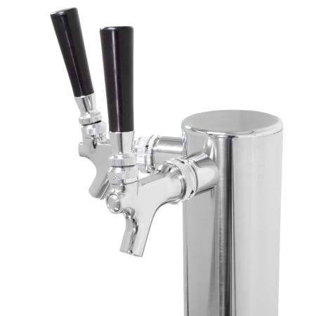 Taprite 4743DTSS-14 :: 14-Inch Dual Faucet Beer Tower - Wine Cooler City