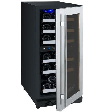 Allavino FlexCount Series Dual Zone Wine Cooler Refrigerator - 30 Bottle Capacity - Right Hinge VSWR30-2SSRN - Wine Cooler City