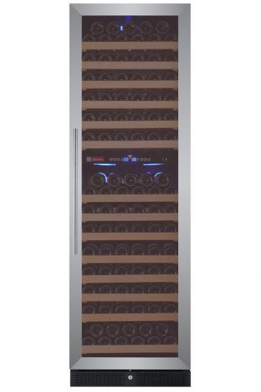 Allavino Classico Series 172 Bottle Dual-Zone Wine Cooler Stainless Steel Door - Wine Cooler City