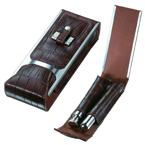 Visol Alton Brown Leather Cigar Case