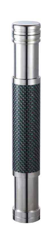 Visol Kinetic III Titanium and Carbon Fiber Adjustable Cigar Tube - Wine Cooler City