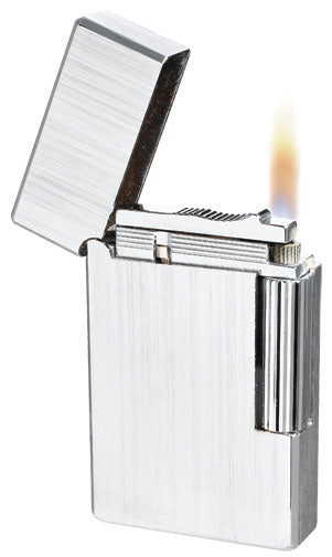 Visol King Silver Flint Lighter - Wine Cooler City