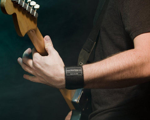 NewGrip Wrist Support Wraps Guitar