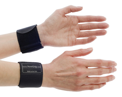 NewGrip Wrist Support Wraps for Carpal Tunnel and Wrist Pain Relief