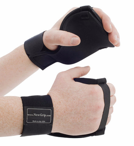 NewGrip Thick Grips weight lifting gloves