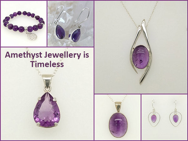amethyst crystal jewellery for sale