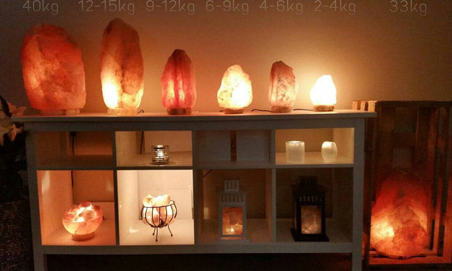 best salt lamp size for each room