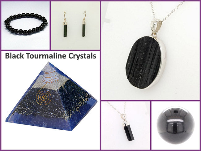 black tourmaline crystals benefits