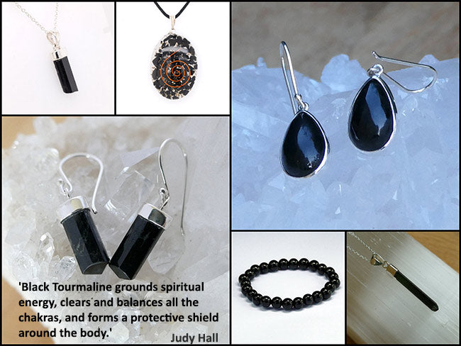 best black tourmaline jewellery online australia