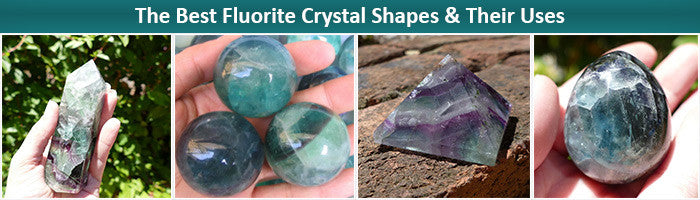 Fluorite crystal spheres points pryamids
