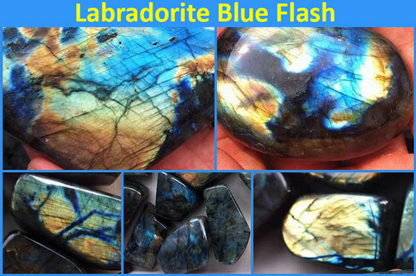 labradorite crystals for protection blue flash