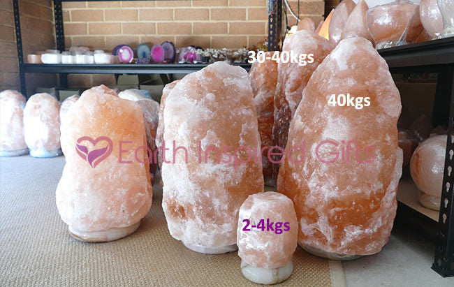 large himalayan salt lamps
