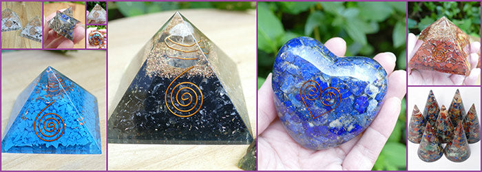 Orgonite Australia pyramids shapes