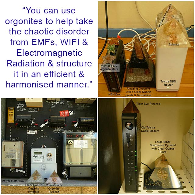 orgonite emfs protection electromagnetic radiation protection