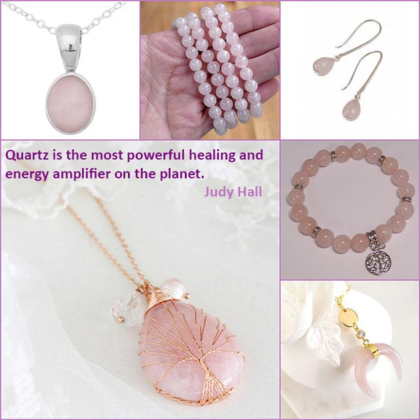 rose quartz crystals for good luck