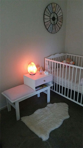 salt lamp kids room baby gifts