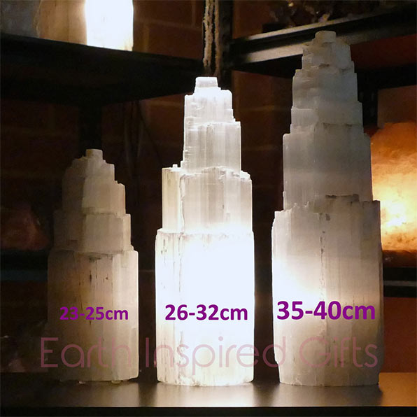 Himalayan Salt Lamps Versus Selenite Tower Lamps - Which is Best ...