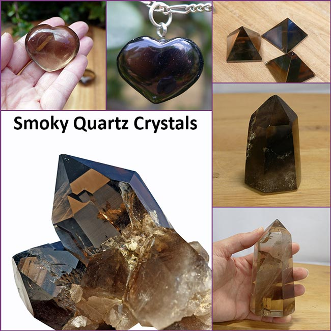 smoky quartz crystals healing properties