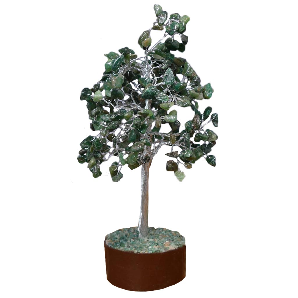 gem tree green aventurine crystal