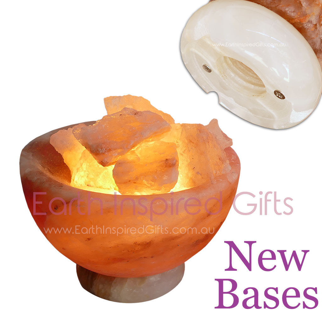 bowl shaped salt lamp