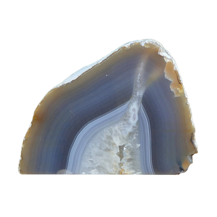 Agate Tea Light Candle Holder - Natural