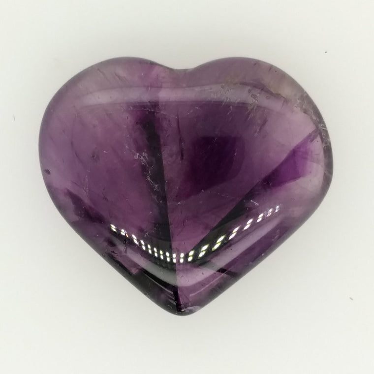 Small Amethyst Crystal Hearts