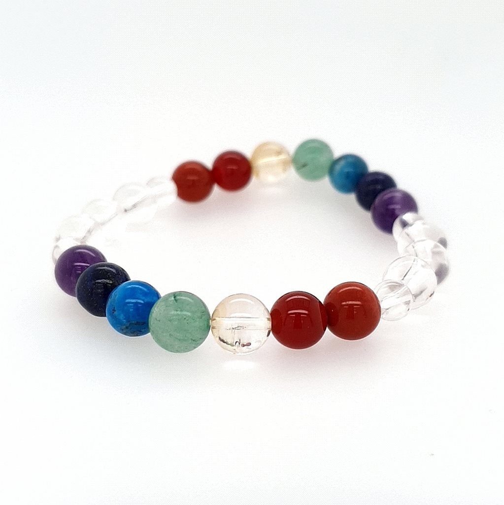 7 Chakra Bead Bracelets - Chakra Healing Bracelet for Friendship, Luck & Love