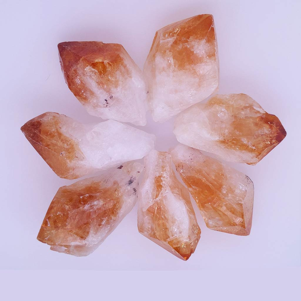 Citrine Crystal - Natural Point