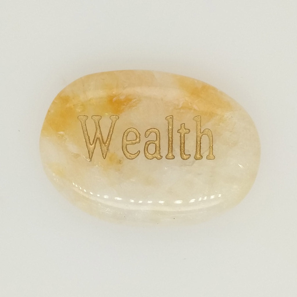 citrine wealth stone