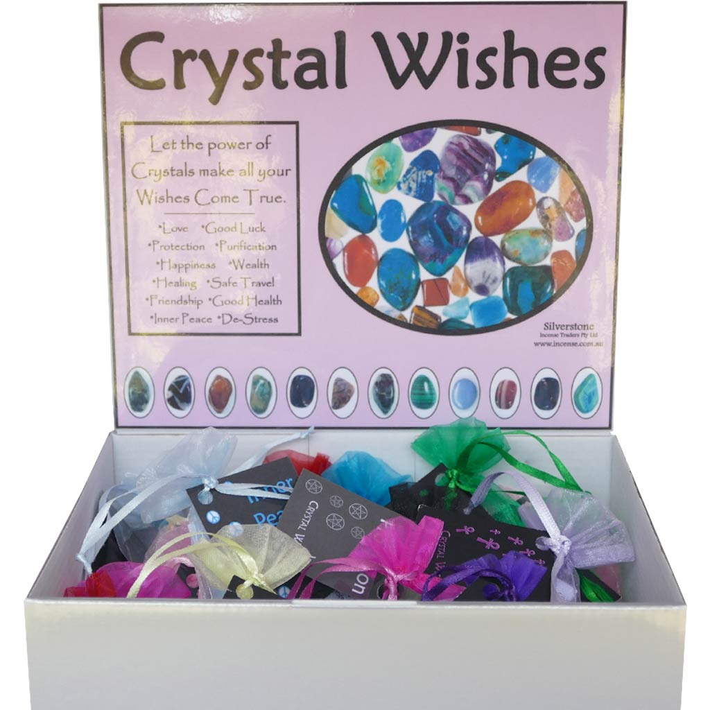 Crystal Healing Stone Sets - 12 Varieties to Choose From