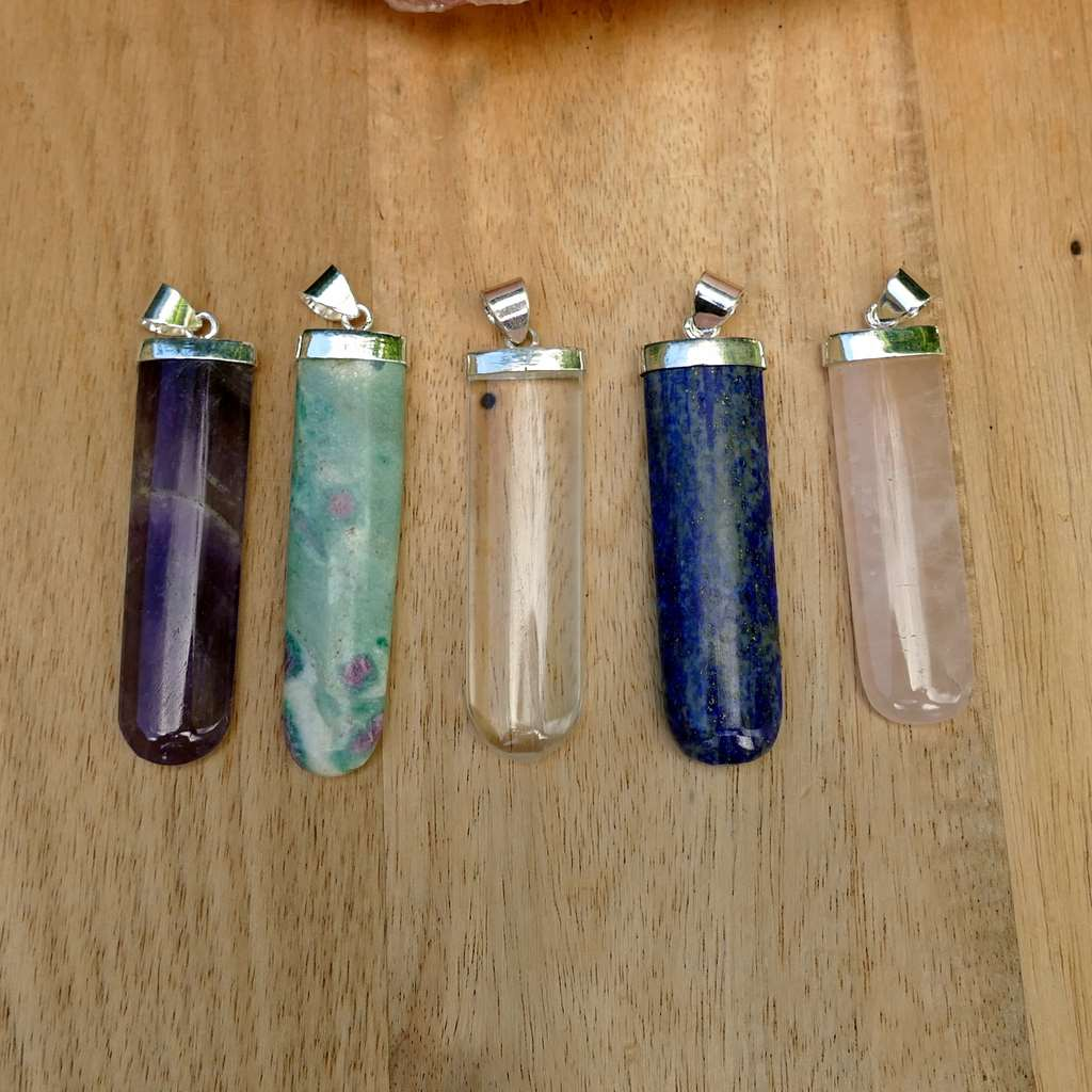 Crystal Pendants variety crystals