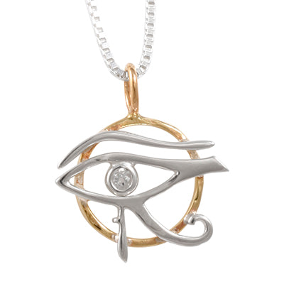Eye of Horus Pendant designed by Blue Turtles