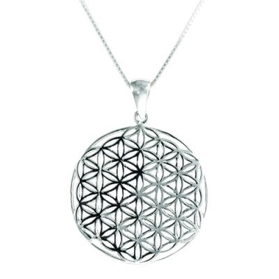 Flower of Life Pendant designed by Blue Turtles